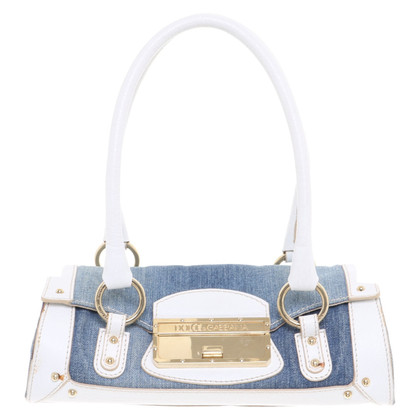 Dolce & Gabbana Handbag made of jeans and leather