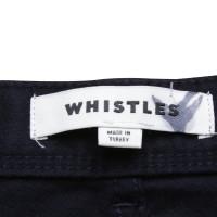Whistles Hose in Dunkelblau