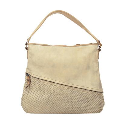 "Campomaggi Tasche ""Stondata Shoulder Bag Grigio Perla"""
