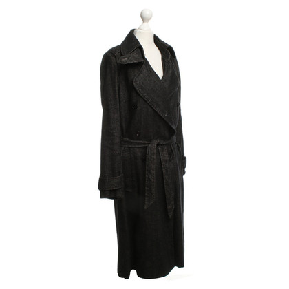 Isabel Marant Etoile Trenchcoat mit Fischgrätmuster