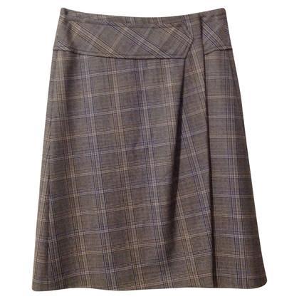 René Lezard skirt with Glencheckmuster