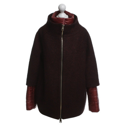 Herno Winter jacket in dark red