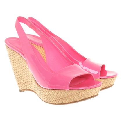 Jil Sander Sandaletten in Pink