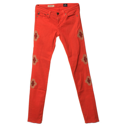 Adriano Goldschmied Jeans in oranje