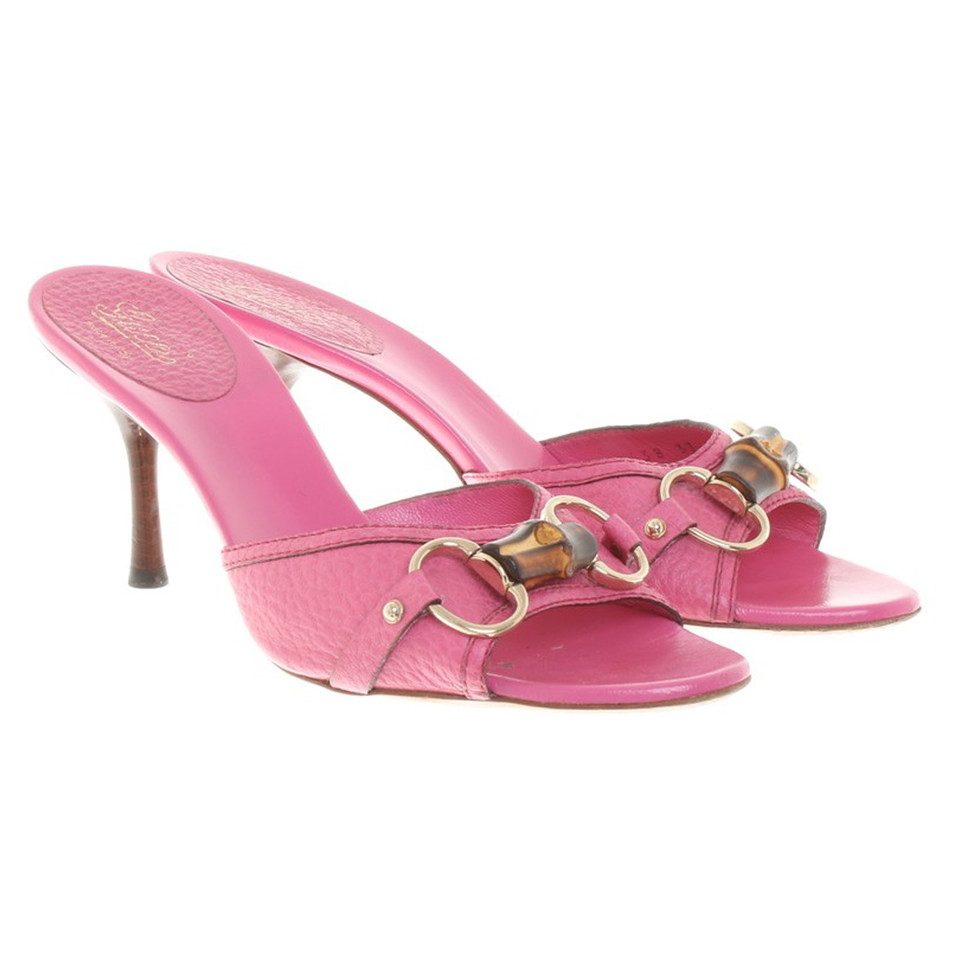 Gucci Sandals in pink - Buy Second hand Gucci Sandals in ...