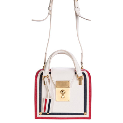"Other Designer Thom Browne - ""Mrs Thom Mini Leather Tote"""