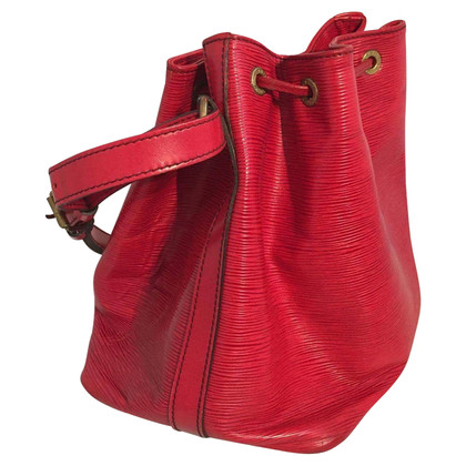 "Louis Vuitton ""Petit Noé EPI leather"" in red"