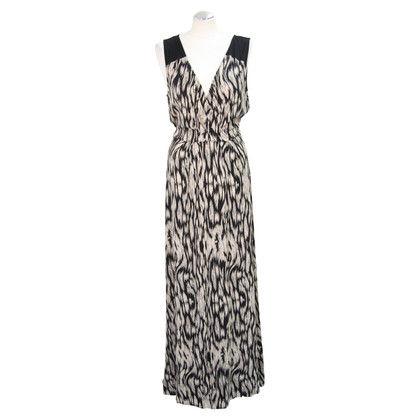 Hobbs Long dress with pattern