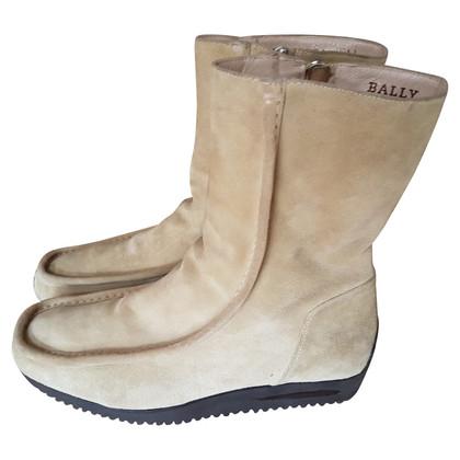 Bally Stivali di pelle di pecora