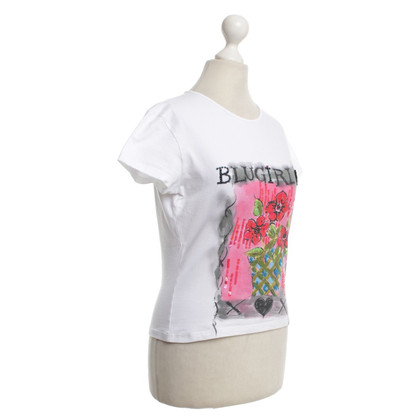 Blumarine Blugirl - top with motif print