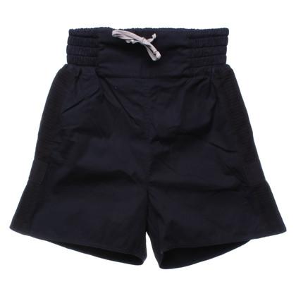 Rick Owens Shorts in dark blue / black