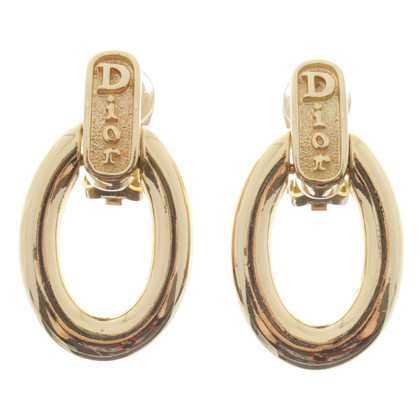 Christian Dior Ear clips with pendant
