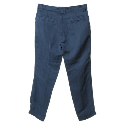 Closed Chinohose in dark blue