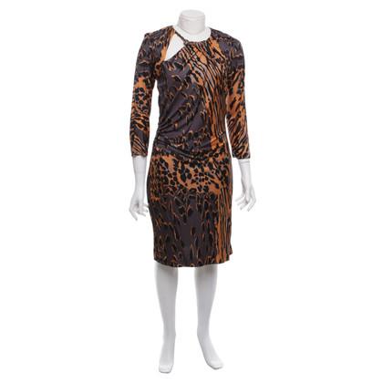 Roberto Cavalli Dress in animal design