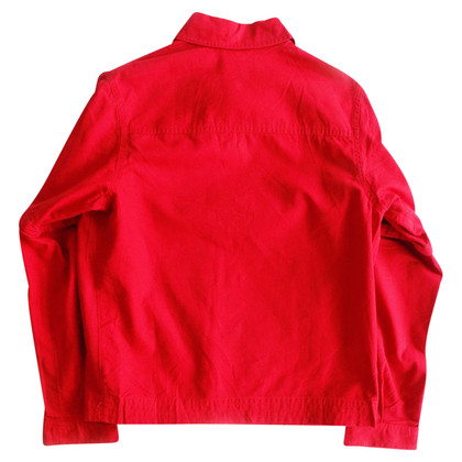 Cacharel Veste Denim en rouge