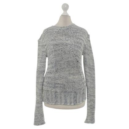 Joseph Sweater in cream / grey
