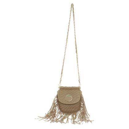 Roberto Cavalli Shoulder bag with fringes