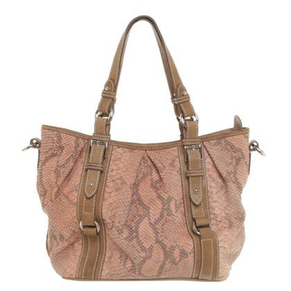 Bogner Handtasche in Reptiloptik