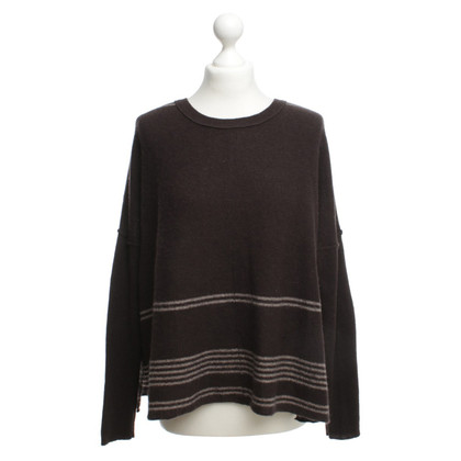 360 Sweater Maglione di cashmere in marrone