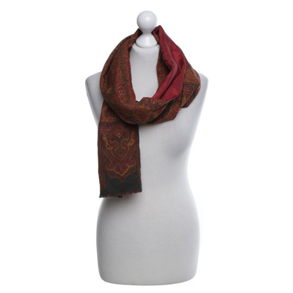 Céline Scarf in wool and silk