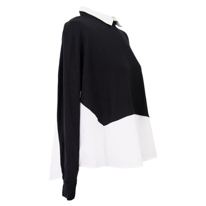 French Connection Top in zwart / White