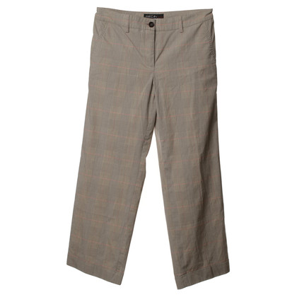 Marc Cain Pants with plaid pattern