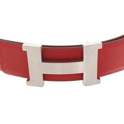 Hermès cintura reversibile con fibbia