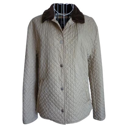 Burberry giacca trapuntata con collare