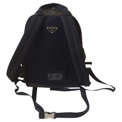 Prada Backpack in khaki