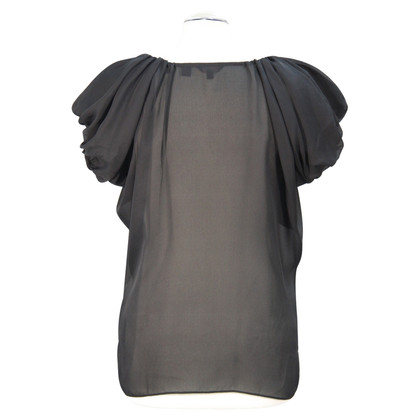 Ted Baker Transparent top in black