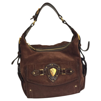 Etro Brown suede handbag