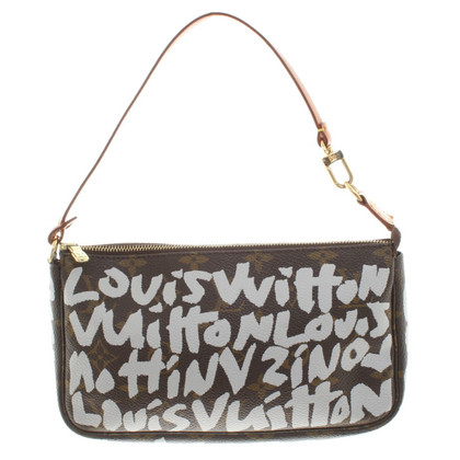 "Louis Vuitton ""Pochette Mini Monogram Graffiti"""