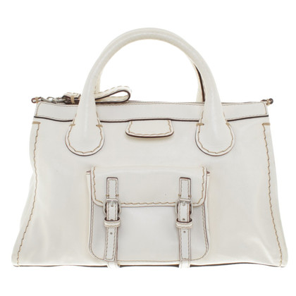 Chloé Shopper in white