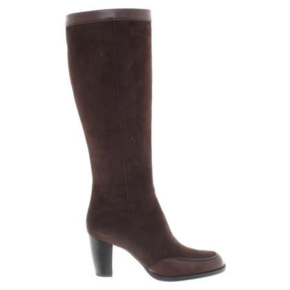 Hogan Boots in brown