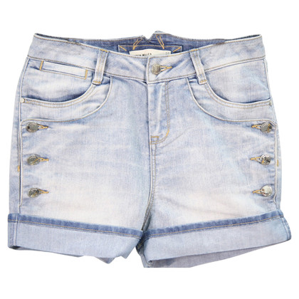 Karen Millen Denim shorts in blauw