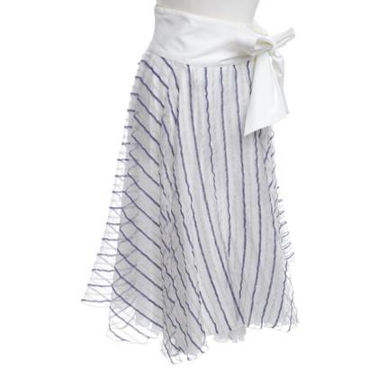 Armani Wrap skirt with pattern