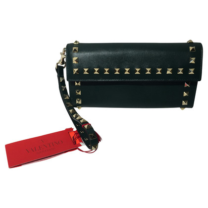 Valentino Leather wallet with rivets