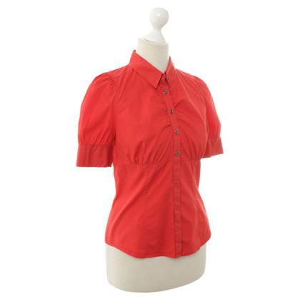 René Lezard Red Blouse Rode blouse