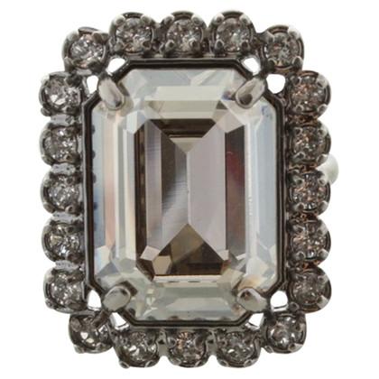 Swarovski Ring with gemstone