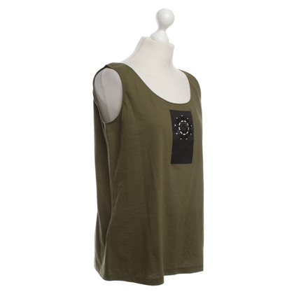 Prada Top in Olive