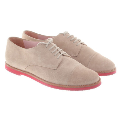 Pretty Ballerinas Lace-up shoes in beige
