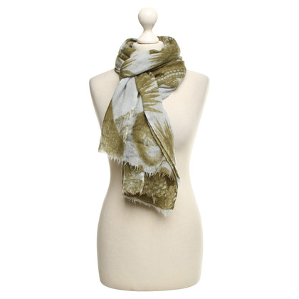 Friendly Hunting Scarf with pattern print
