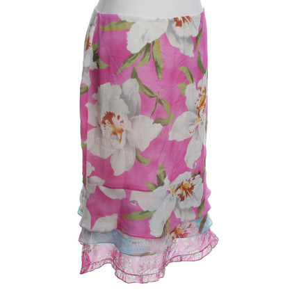 Cacharel skirt with floral pattern