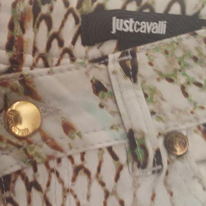 Just Cavalli 3/4-Hose mit Reptil-Muster