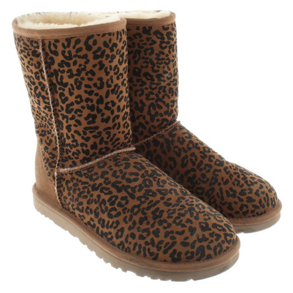Ugg Laarzen met luipaardprint