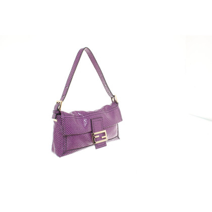 Fendi Schoudertas in Purple