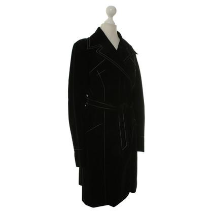 Plein Sud Fluwelen jas in zwart