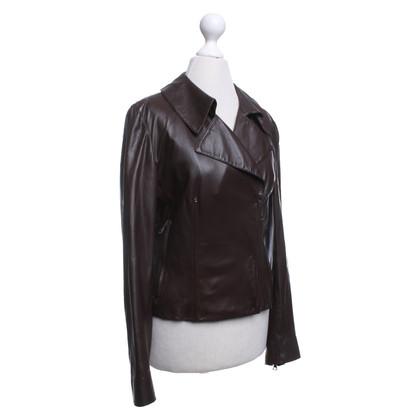 Prada Leather jacket in brown