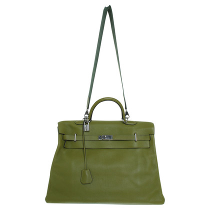 Hermès Travel bag in green