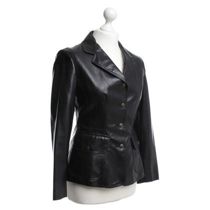 Moschino Jacke in Schwarz